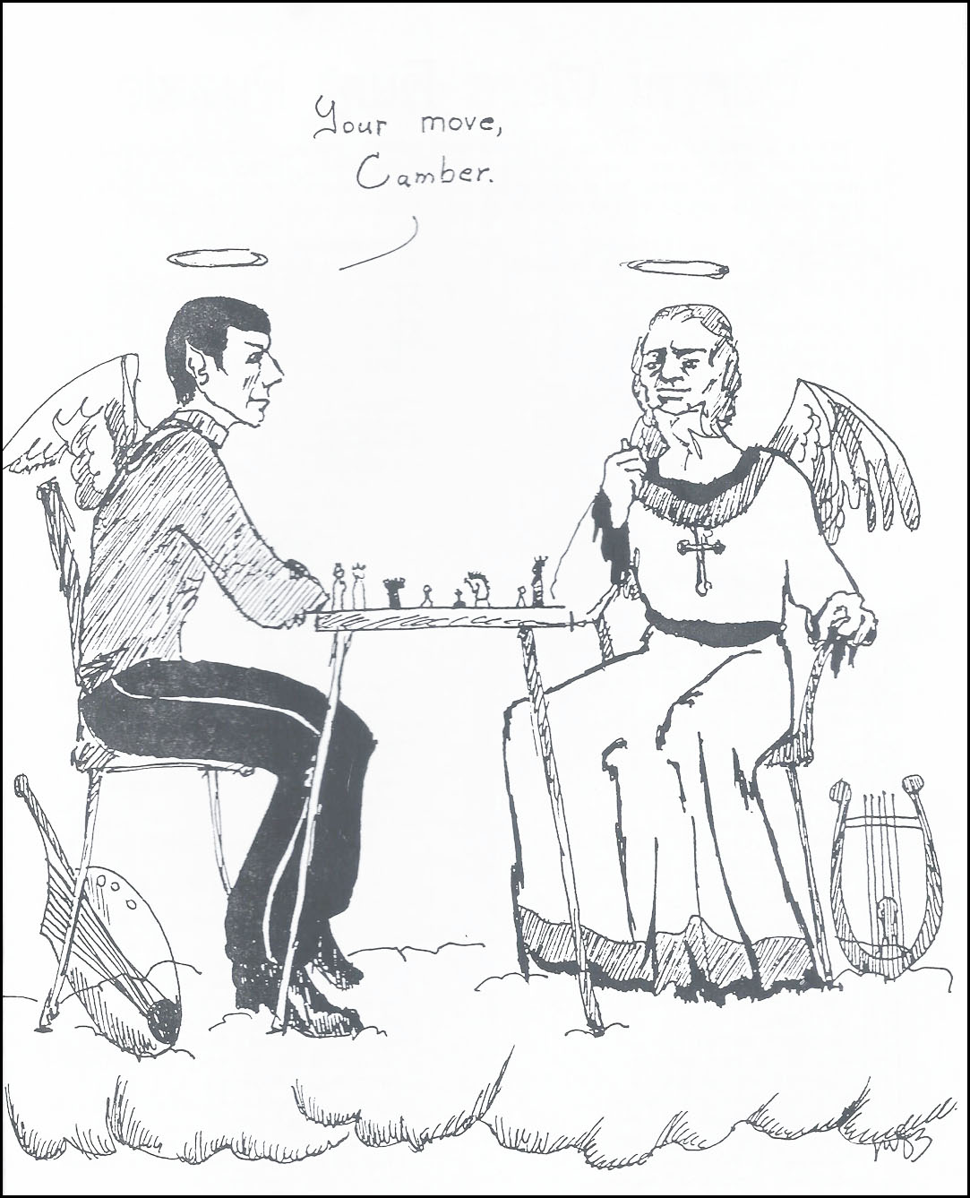 Chess with Camber and Mr. Spock