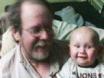 Me and my great-nephew, Evan